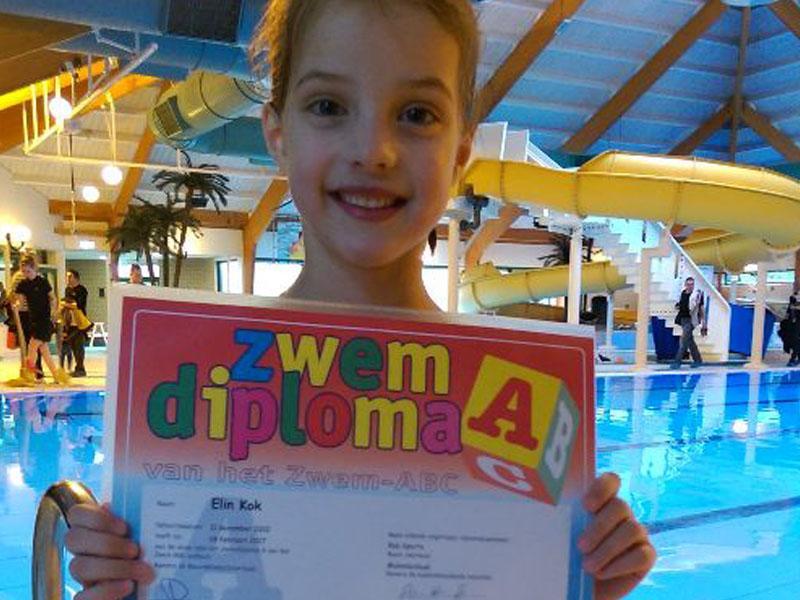 Zwemexamen 18 februari 2017